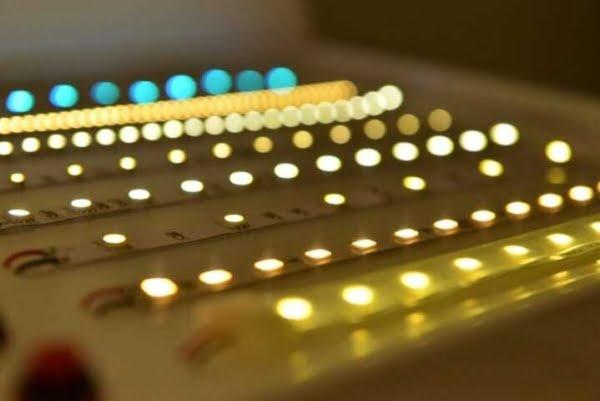 strisce led illuminazione negozi hotel casa ufficio a risparmio energetico