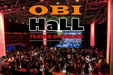 Teatro Tenda Obihall Firenze, luci per esterno