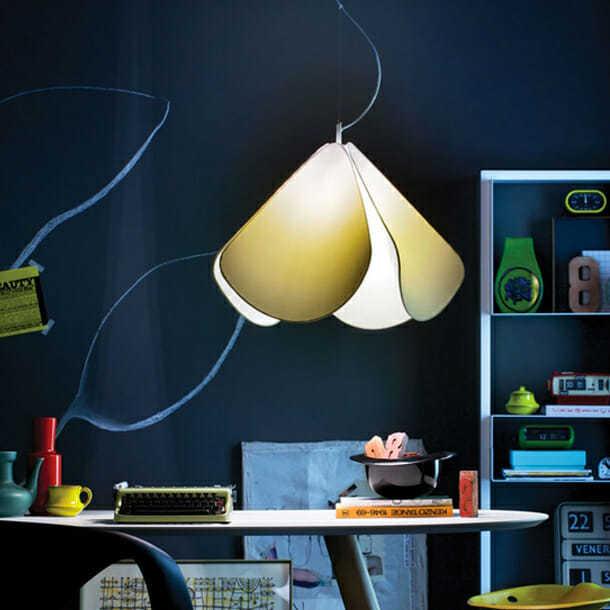 Lampade tessuto design, Azhar novità di Cabelli luce