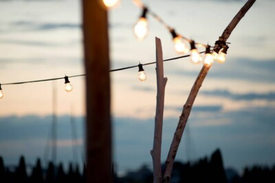 luci per esterno catenaria luci per feste ed eventi