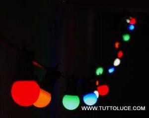 luci led natale decorazioni negozio eventi natale colori spettacolo
