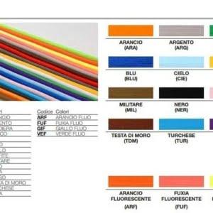 illuminazione cavo elettrico colorato pendel tabella colori
