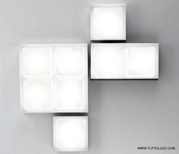 lampade moderne vetro led componibile