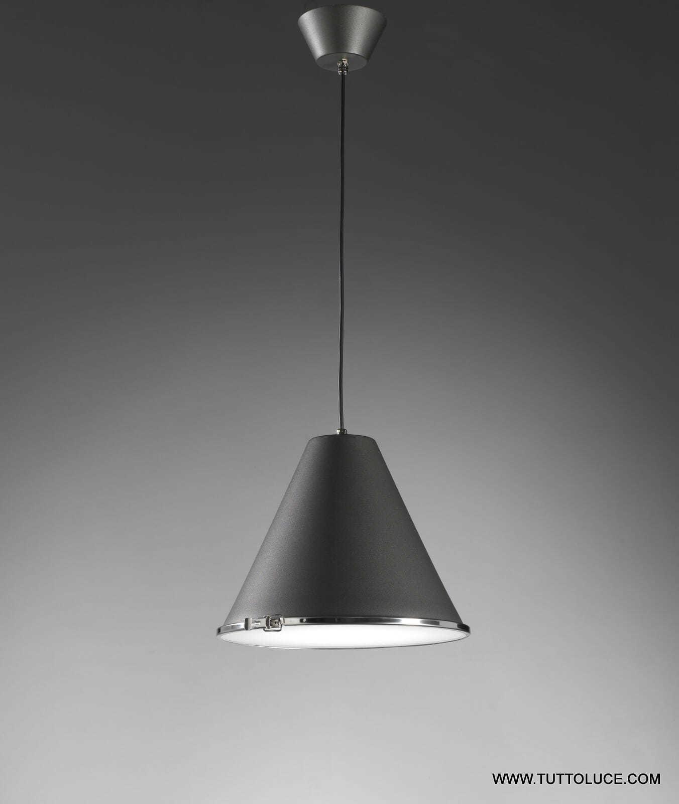 lampade moderne sospensione soffitto in metallo verniciato