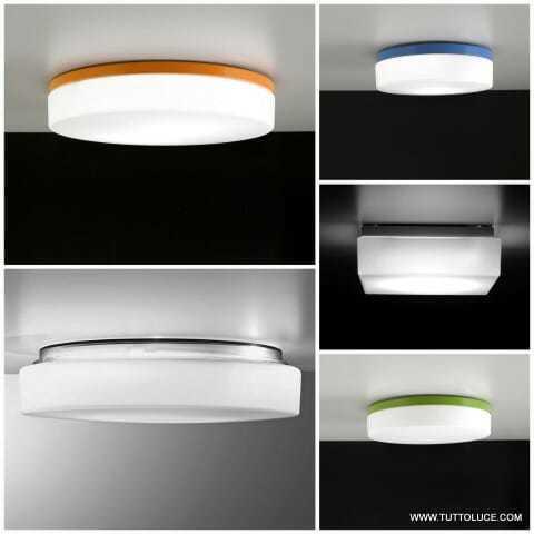 Lampade moderne vetro soffiato anche led for Lampade a led grandi