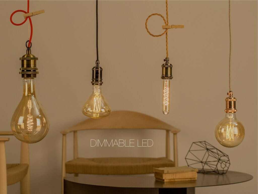 Lampadine led filamento dimmerabili in vari formati anche for Costo lampadine led