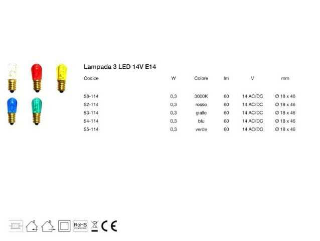 Lampadine led e14 per luminarie decorative esterno interno for Dove comprare lampadine led online