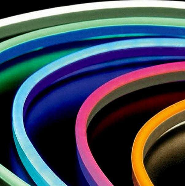 Tubo led flessibile neonflex bifacciale non solo insegne for Tubi luminosi led